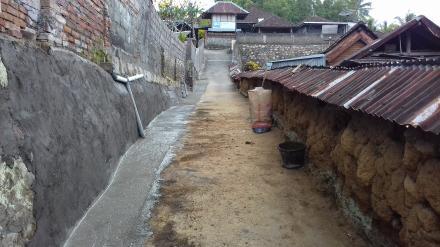 Realisasi Dana Desa tahap I Dengan Kegiatan Penutupan Got Di Banjar Meninjo
