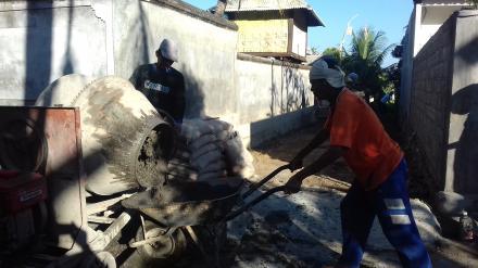 Realisasi Dana Desa Kekeran Bangun Rabat Beton