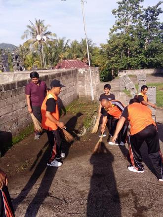 Pemdes kekeran Gerakan Semesta Berencana Bali Resik Sampah Plastik